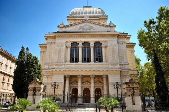 28 luglio 1904: inaugurazione del Tempio Maggiore a Roma