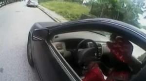 Screnn shot del video girato il 19 luglio Cincinnati (Ohio)