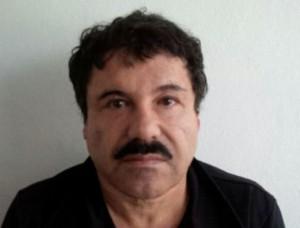 Foto dell'identità giudiziaria di  Joaquin Guzman (Foto handout PGR)  VU DU MEXIQUE
