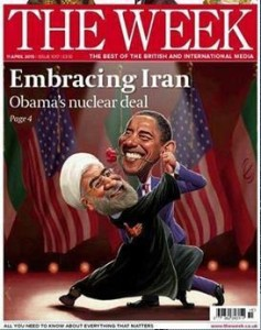 "L'ironica copertina di ""The Week"""