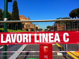 cantiere-foro-colosseo-linea-C-2