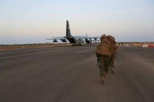 Militare nella base di Djibouti, 24 dicembre 2013 Foto: Dipartimento di Stato Americano Archives / Robert L. Fisher Iii