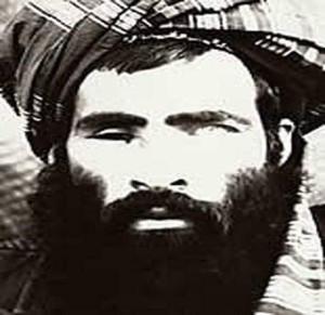 Una delle rarissime fotografie del Mullah Omar Foto: Epa