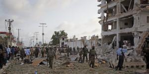 L'Hotel Jazeera, il 26 luglio a Mogadiscio Foto: Farah Abdi Warsameh / AP