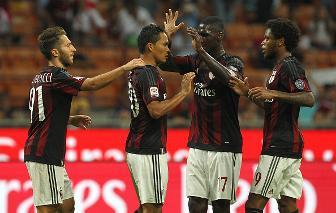 Bacca – Luiz Adriano, Empoli battuto e primi tre punti per il Milan