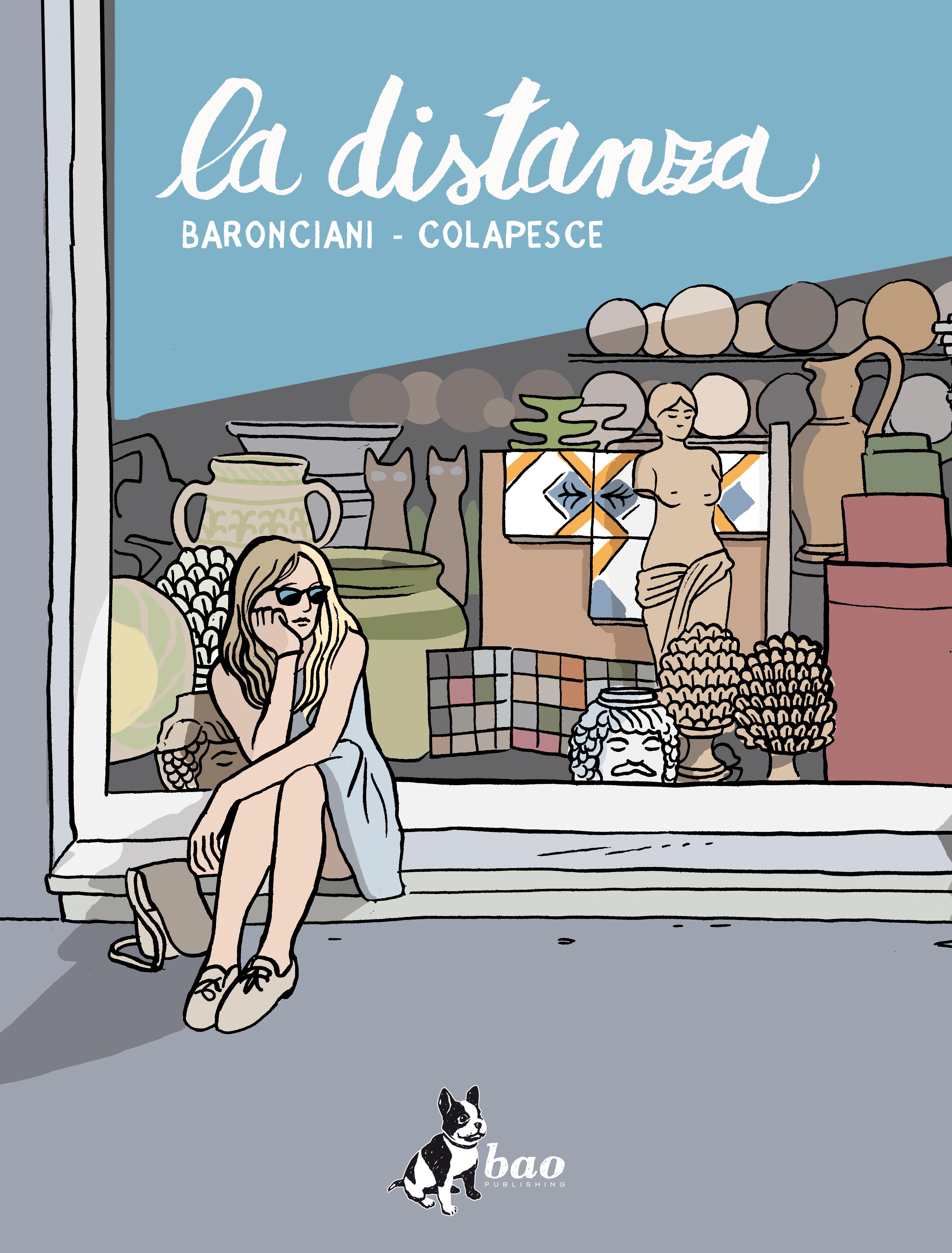 """""""La distanza"""" ovvero la Sicilia on the road nel fumetto di Colapesce e Baronciani"""