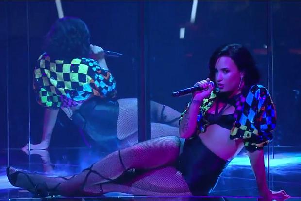 Demi Lovato con una band tutta al femminile per The Voice of Australia