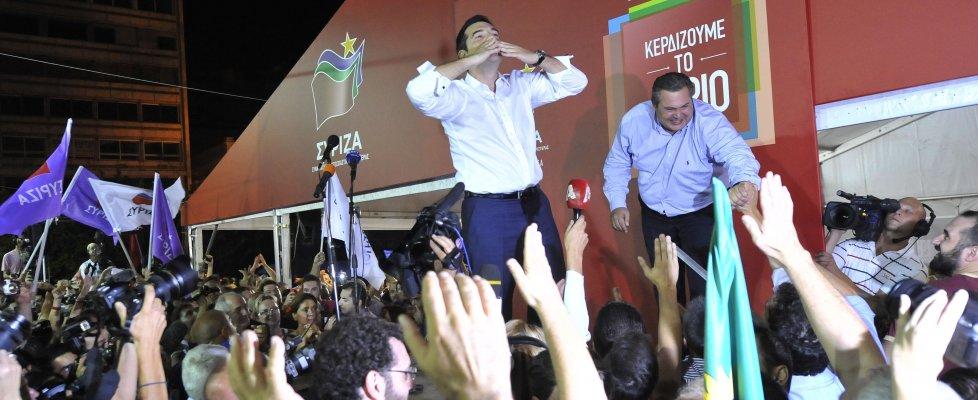 Alexis 'il greco' vince ancora
