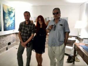 Alain Rivière, Concetta De Pasquale, Silvio Pasqualini