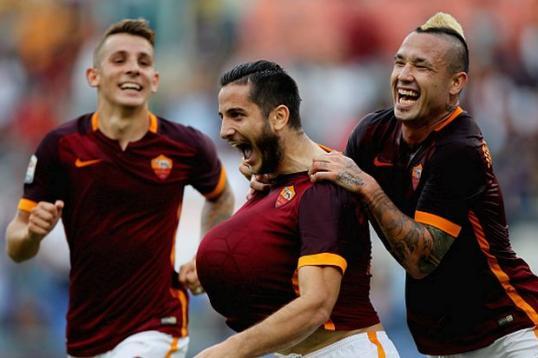 Cinquina giallorossa: la Roma travolge il Carpi 5-1