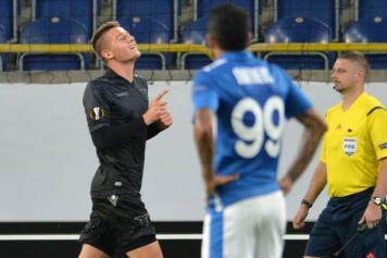 Lazio beffata a tempo scaduto, in Ucraina è 1-1