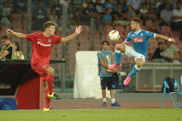 Napoli show, Brugge travolto 5-0
