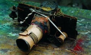Una delle macchine fotografiche di Miroslav