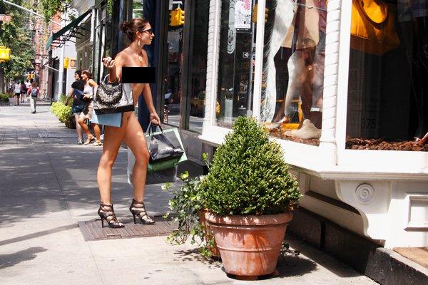 NYC nuda e cruda