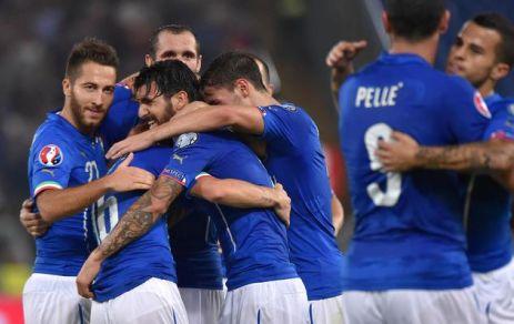 Florenzi-Pellè, l'Italia rimonta e conclude in testa il girone