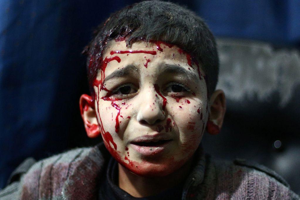 Siria: i disegni dei bambini, la guerra vista dagli occhi dell'innocenza