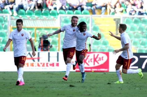Poker Giallorosso al Barbera: Roma batte Palermo 4-2