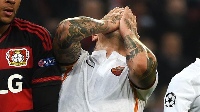 Pazza Roma, rimonta e si fa rimontare: a Leverkusen finisce 4-4