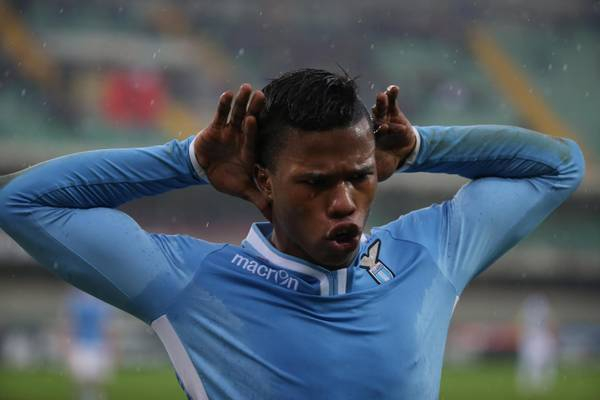 Vola la Lazio, 2-0 sul Frosinone