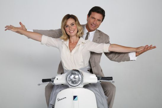 """""""Vacanze Romane"""" per la coppia Autieri-Conticini"""