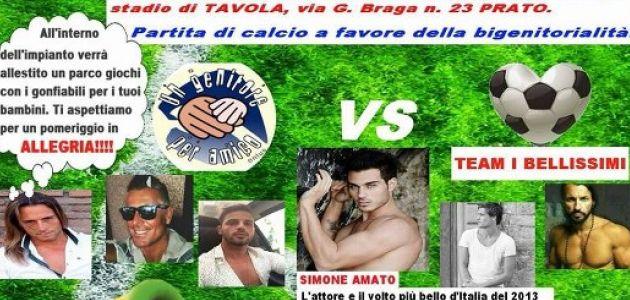 Vip in campo per la bigenitorialità, giornata – evento a Prato