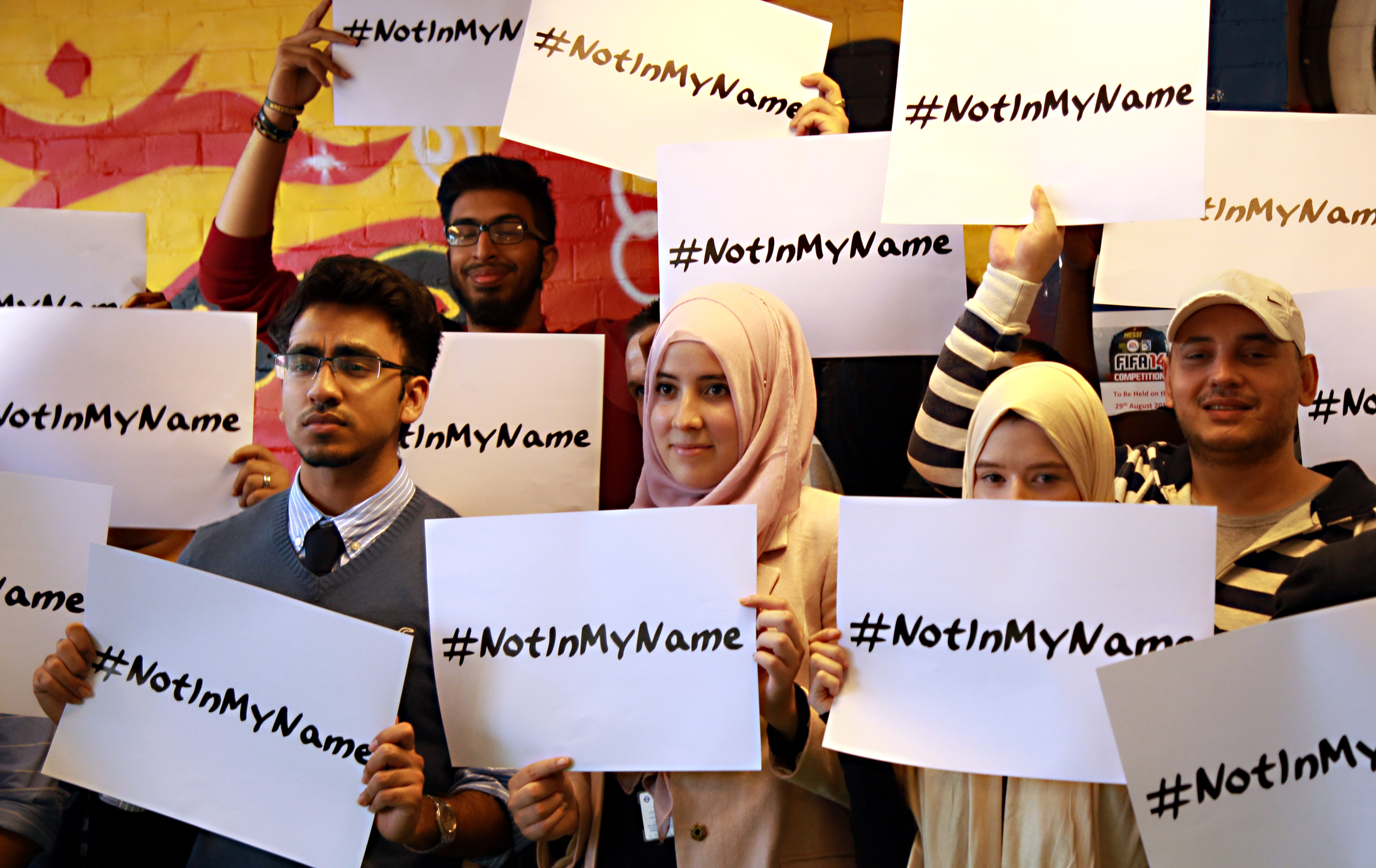 Not in my name: musulmani in piazza per dire no all'Is