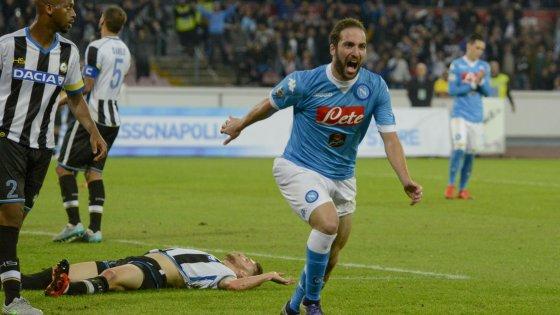 Sempre Higuain, Napoli di misura sull'Udinese
