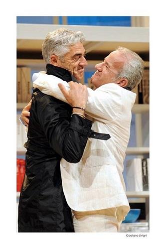 """Ma Biagio Izzo è """"L'amico del cuore"""" di Vincenzo Salemme?"""