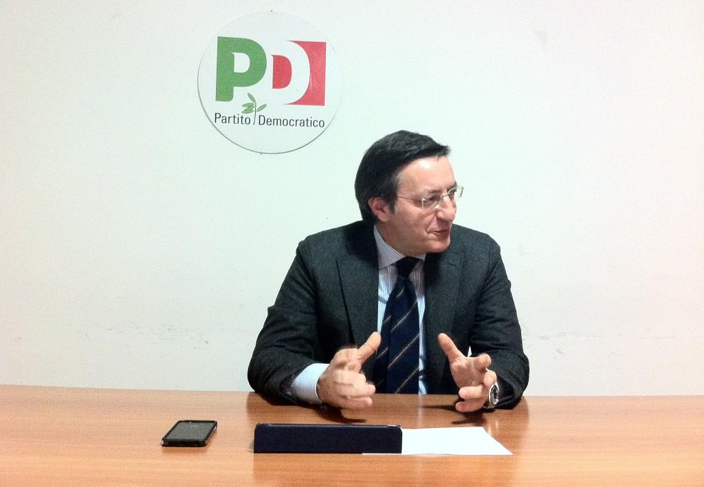 L'Onorevole Giuseppe Lauricella, parlamentare Pd.