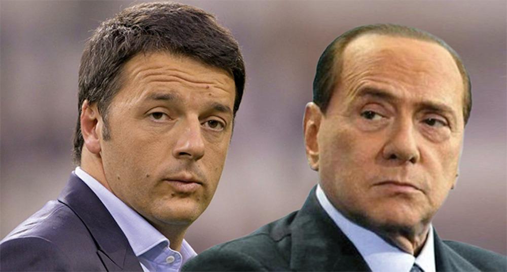 Renzi – Berlusconi, solo polemiche di facciata