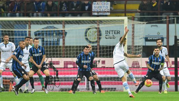 Inter – Lazio 1-2, Candreva stende la capolista