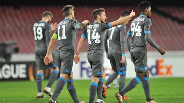 Partita senza storia: Napoli-Legia Varsavia 5-2