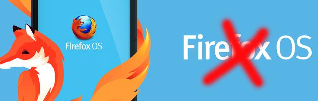 Firefox OS chiude i battenti