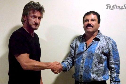 """Cosa ha detto """"El Chapo"""" al reporter d'élite Sean Penn"""