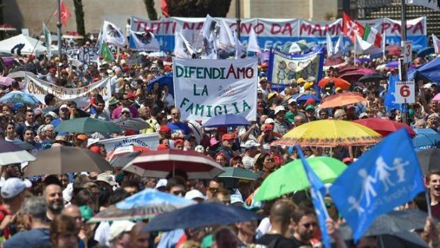 Family Day, manifestazione al Circo Massimo