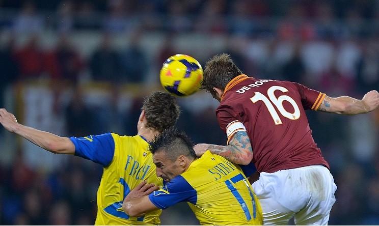 La Roma spreca tutto: 3-3 al Bentegodi