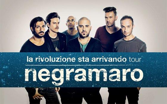 """Negramaro – """"La rivoluzione sta arrivando tour"""": le nuove date"""