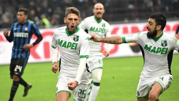 Inter stoppata dal Sassuolo, decide Berardi al 95'
