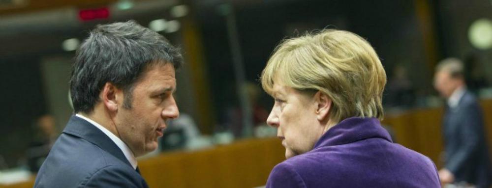 Faccia a faccia Renzi –Merkel a Berlino per il posto al tavolo che conta