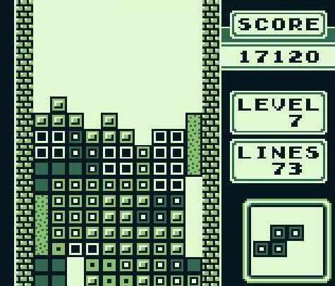 Tetris per Gameboy