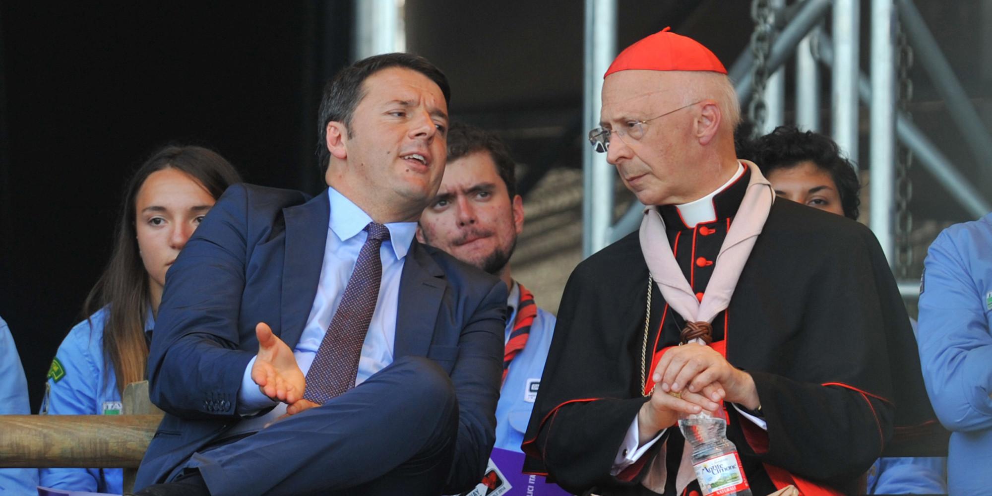 """Unioni Civili, Renzi: """"Il Voto Segreto? Non lo decide la Cei, ma il Parlamento"""""""