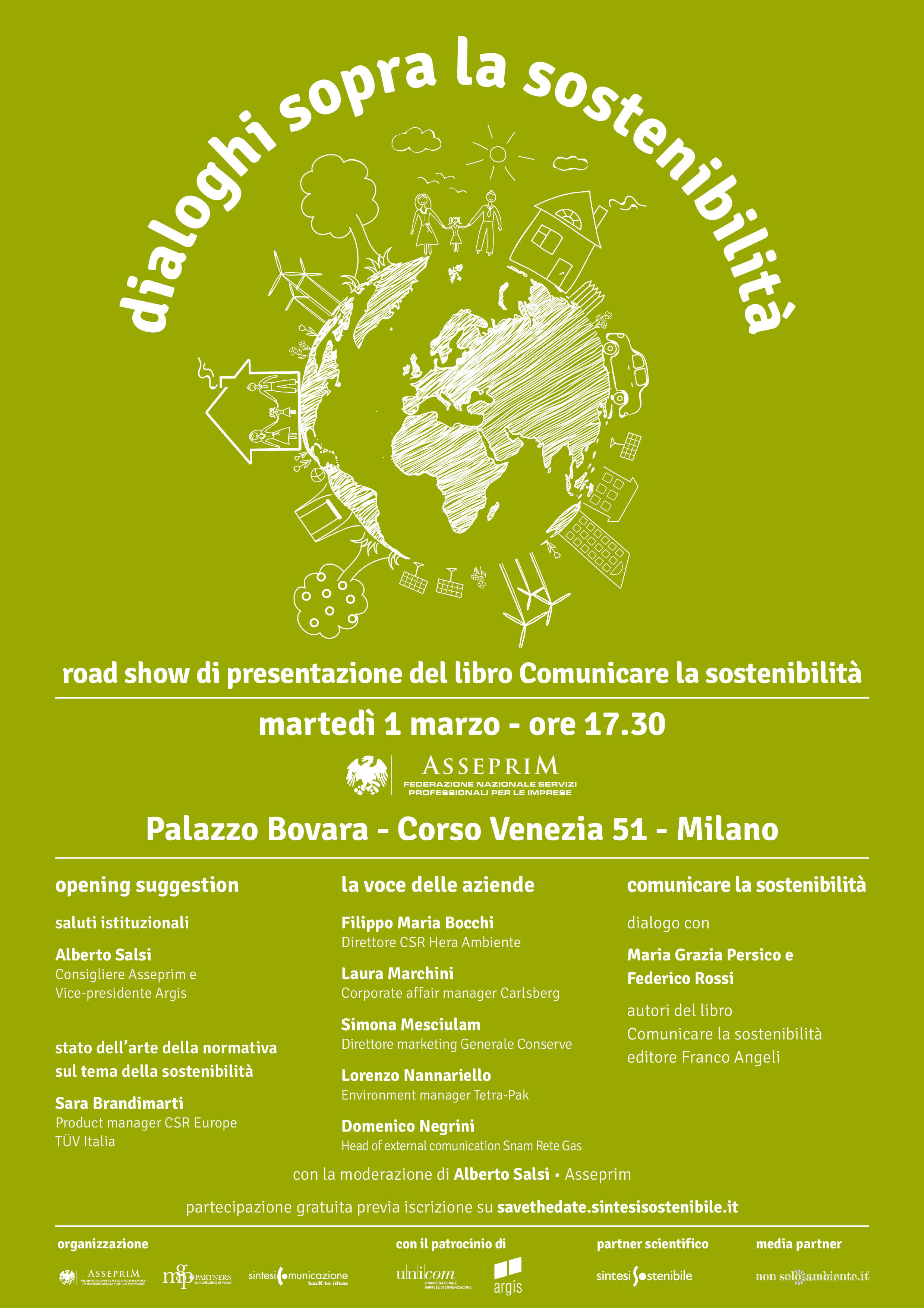 Dialoghi sulla sostenibilità: a Palazzo Bovara si discute di comunicazione e sostenibilità ambientale