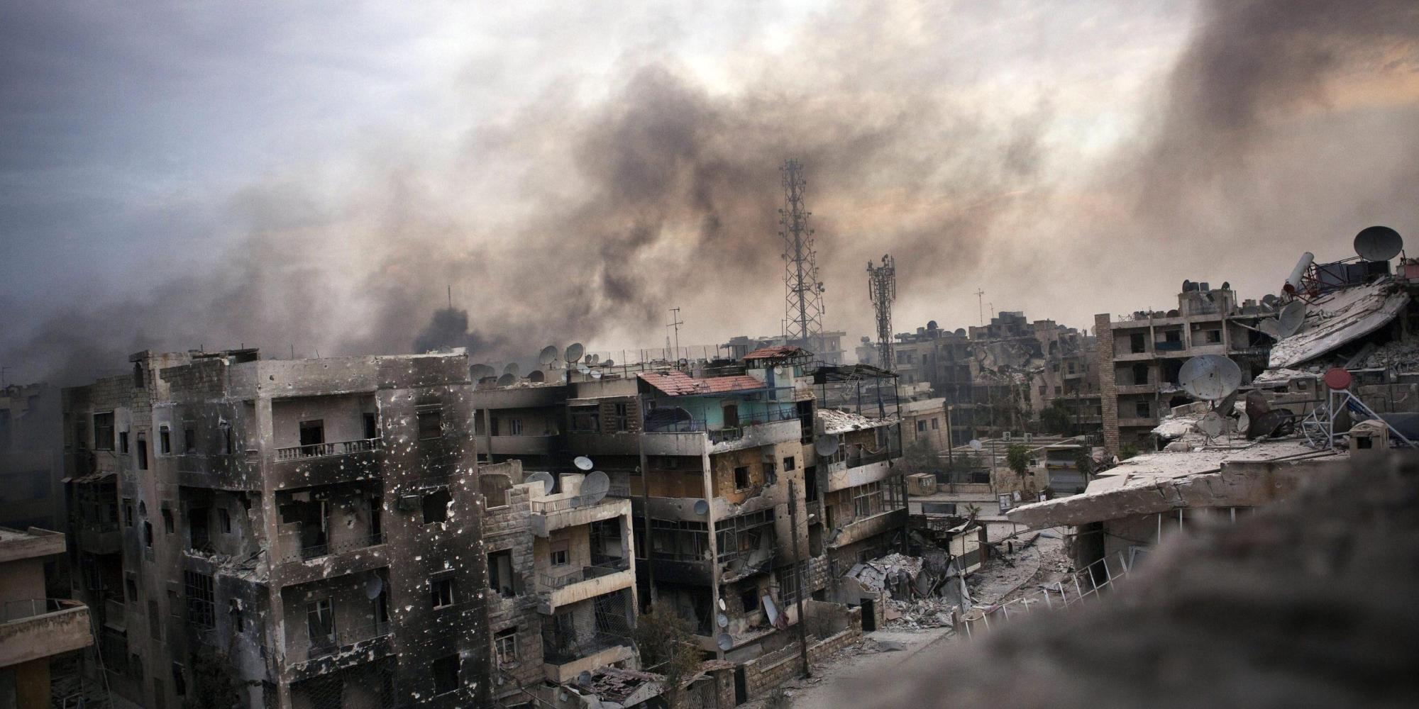 Siria, colpito ospedale: 9 vittime tra cui un bambino