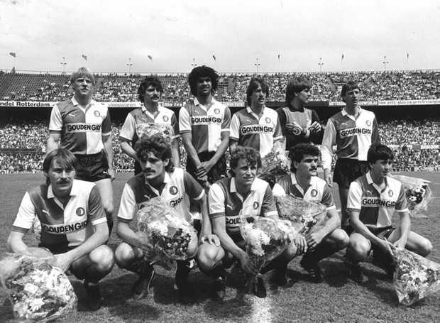 Il Feyenoord del 1984, ultima squadra di Cruijff.