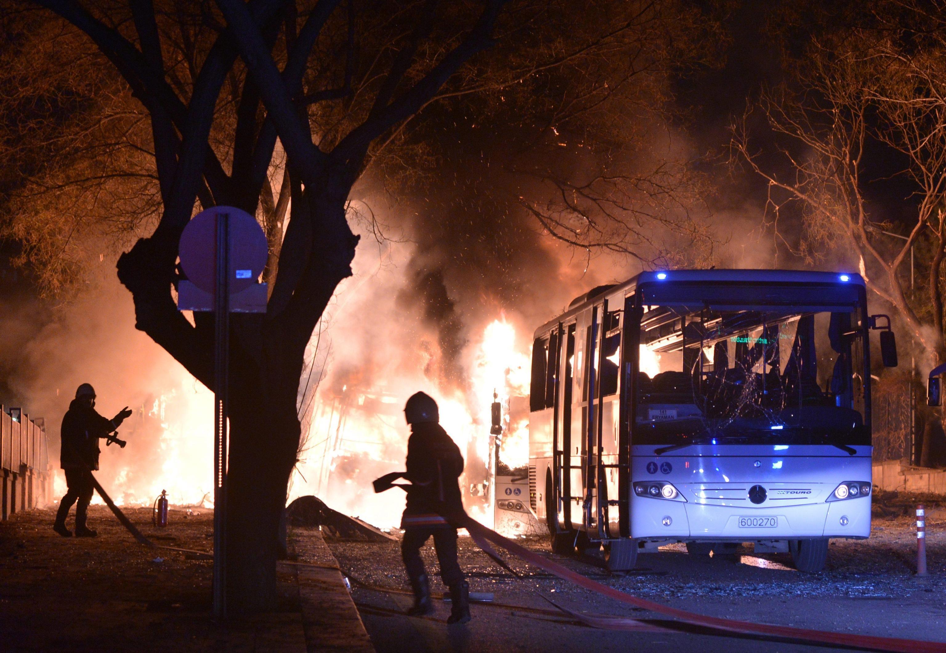 Esplosione ad Ankara, almeno 37 morti