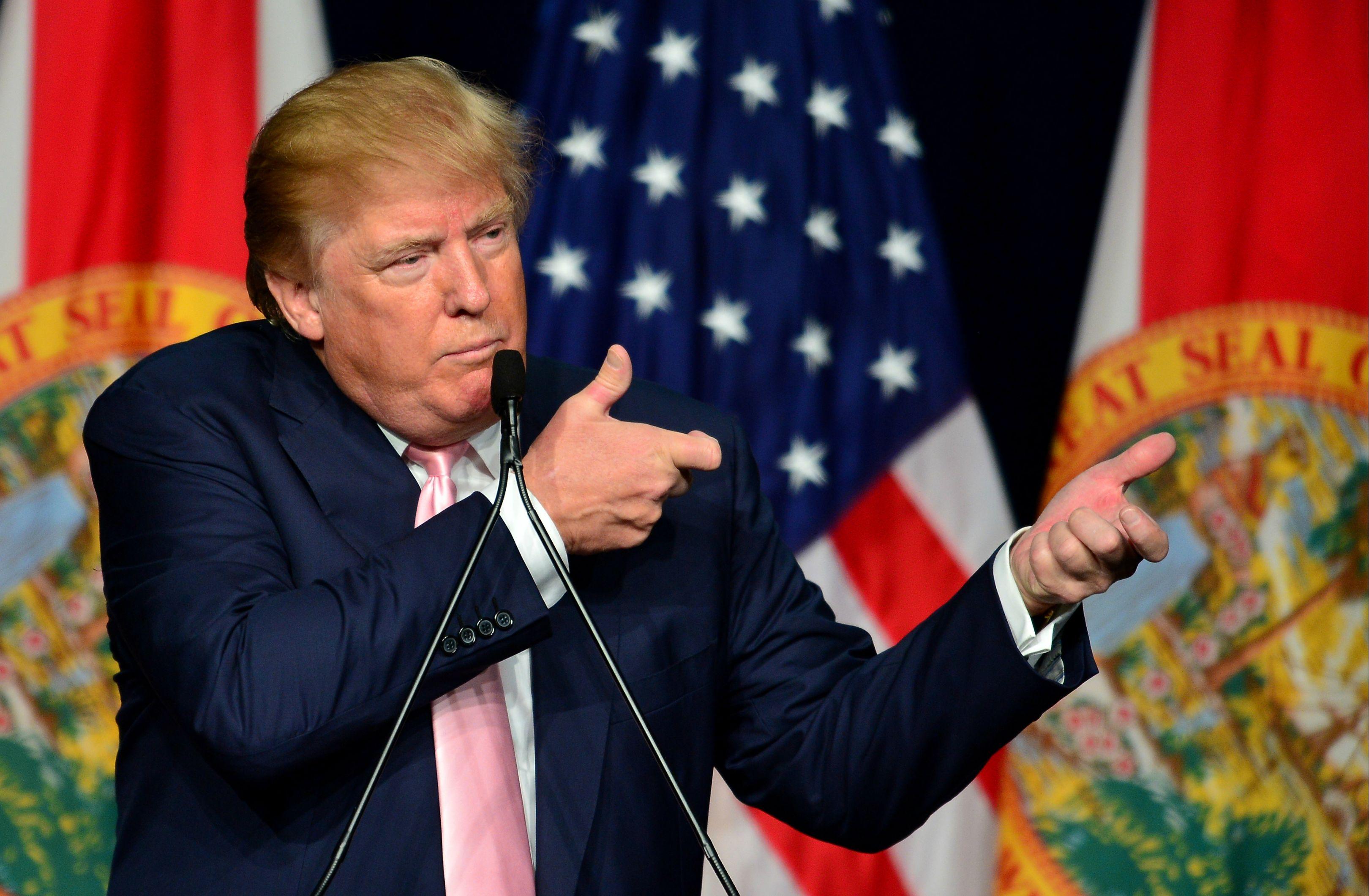 Trump e il vizio di spararla grossa