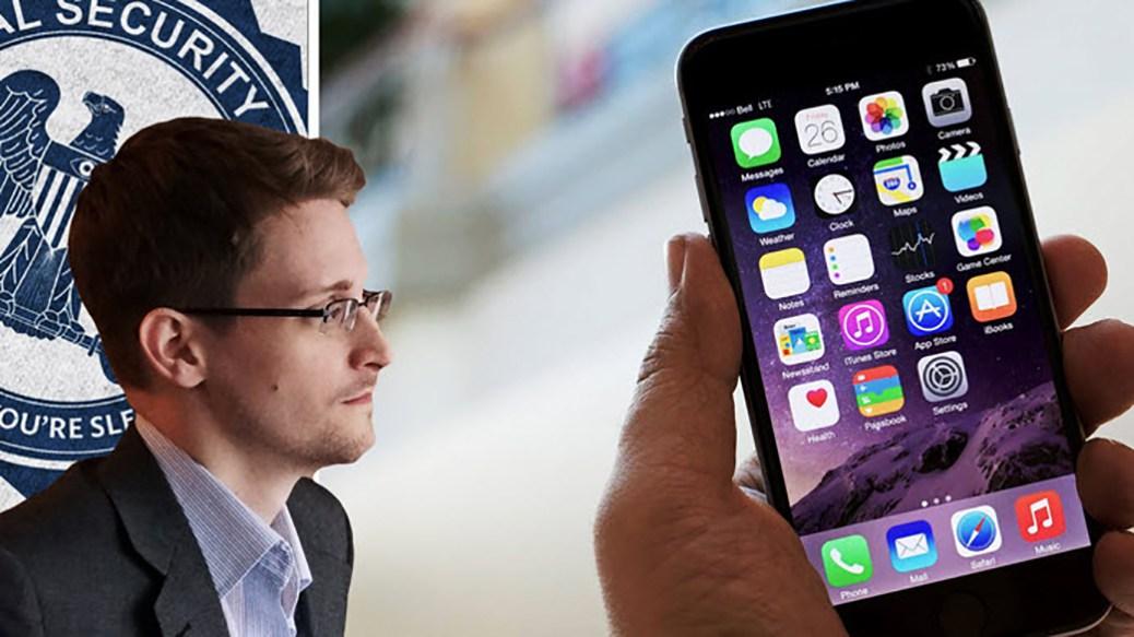 """Snowden: """"I propositi dell'FBI sull'Iphone sono cazzate"""""""