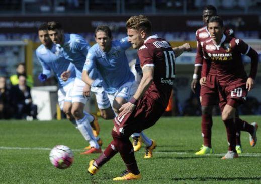 Biglia risponde a Belotti, a Torino è 1-1