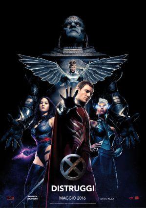 X-MEN APOCALISSE  DISTRUGGI 19.05.2016