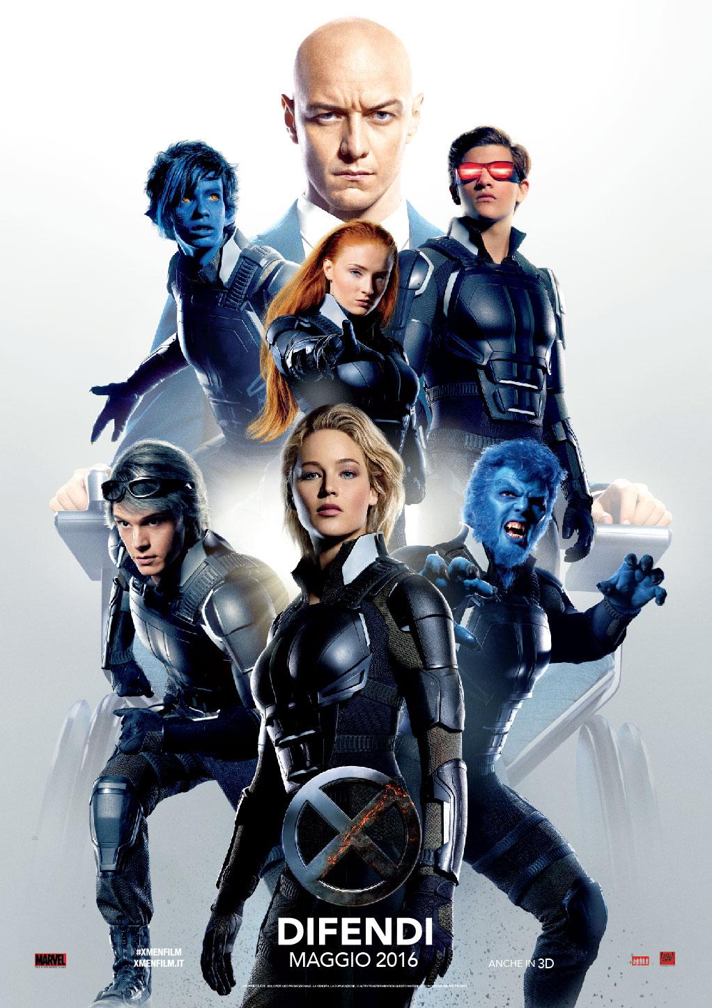 X-MEN: APOCALISSE – Il nuovo Trailer Ufficiale – Dal 19 maggio al cinema